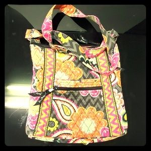 Vera Bradley cross-body hipster purse